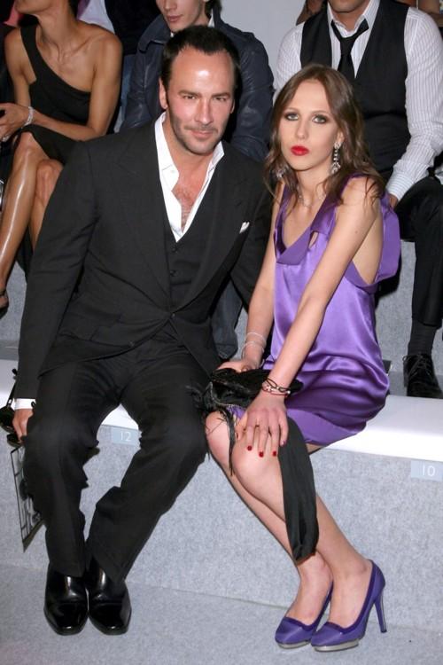 С Аллегрой Версаче, 2008 год