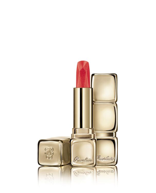 Помада KissKiss Diamond Lipstick з металевим покриттям №545 Coral Zircon, Guerlain, лімітований випуск