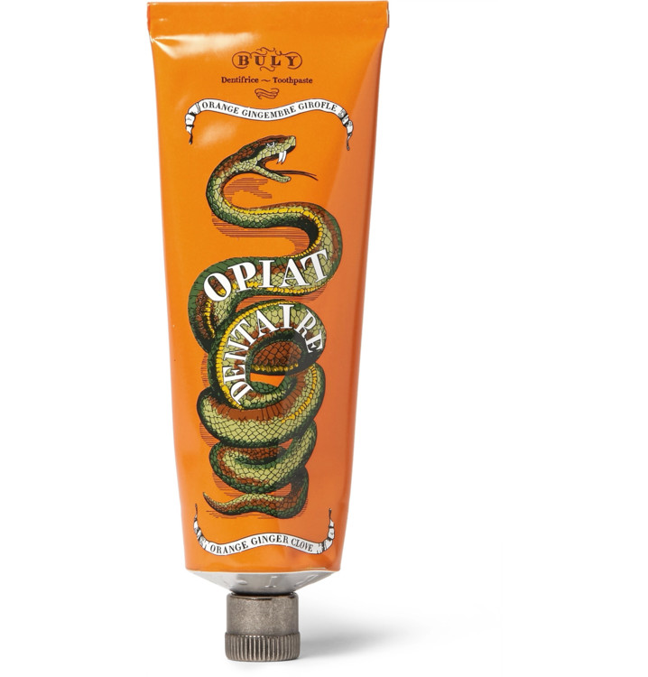 Зубная паста Opiat Dentaire с ароматом апельсина и имбиря, BULY 1803
