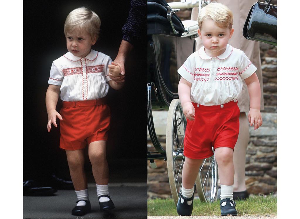 Принц Уильям 1984 / принц Джордж 2015