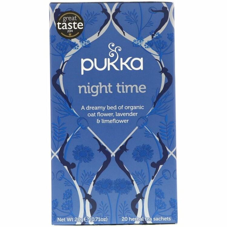 Успокаивающий травяной чай, Pukka