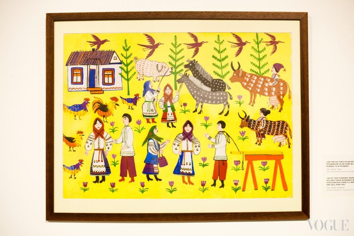Выставки Марии Примаченко в Мыстецком Арсенале