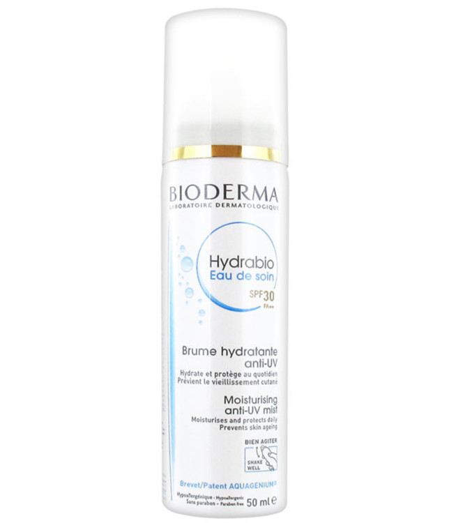 Дымка-спрей Hydrabio Eau de soin SPF 30 Bioderma, SPF30
