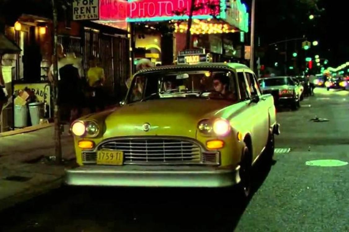 """Checker Taxicab A11 (1975) – желтый автомобиль из популярного """"Таксиста"""" (1976), который все наверняка и так помнят."""