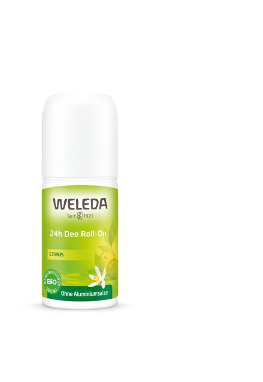 Цитрусовий дезодорант 24 H Roll On, Weleda