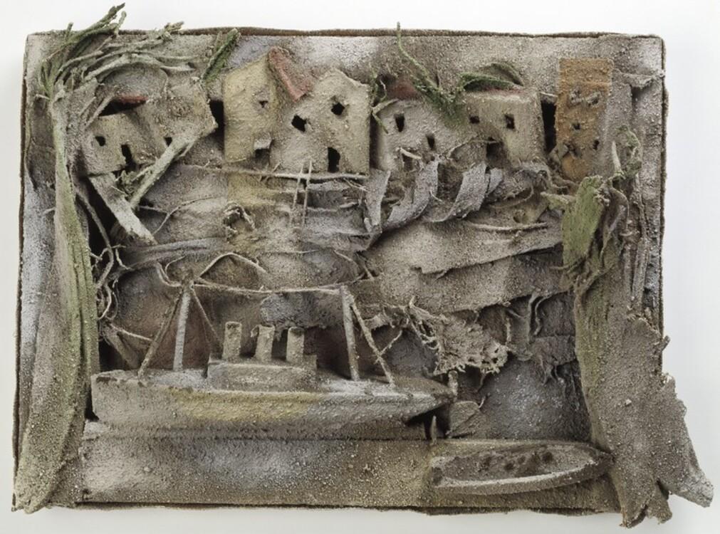 Пабло Пикассо, Paysage aux bateaux Жуан-ле-Пен, 28 августа 1930 год