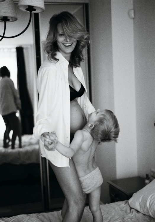 Татьяна Рубан с сыном Мартином