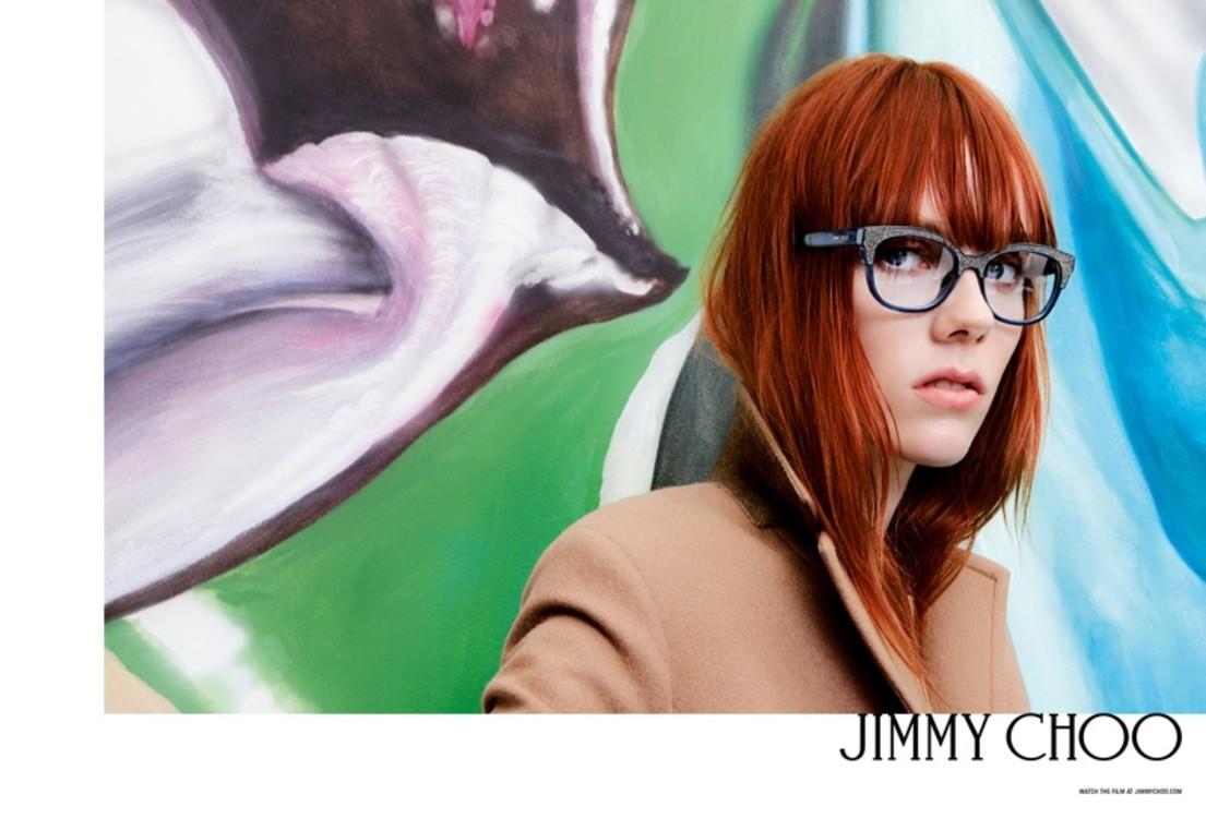 Кики Уиллемс в рекламной кампании  Jimmy Choo весна-лето 2017