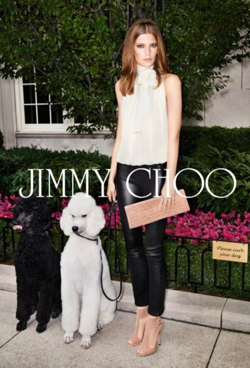 Рекламная кампания Jimmy Choo