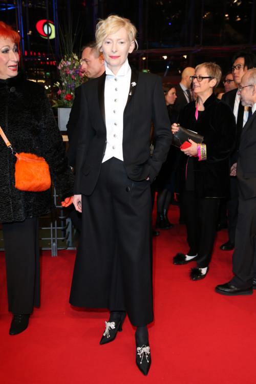 Тильда Суинтон в Chanel