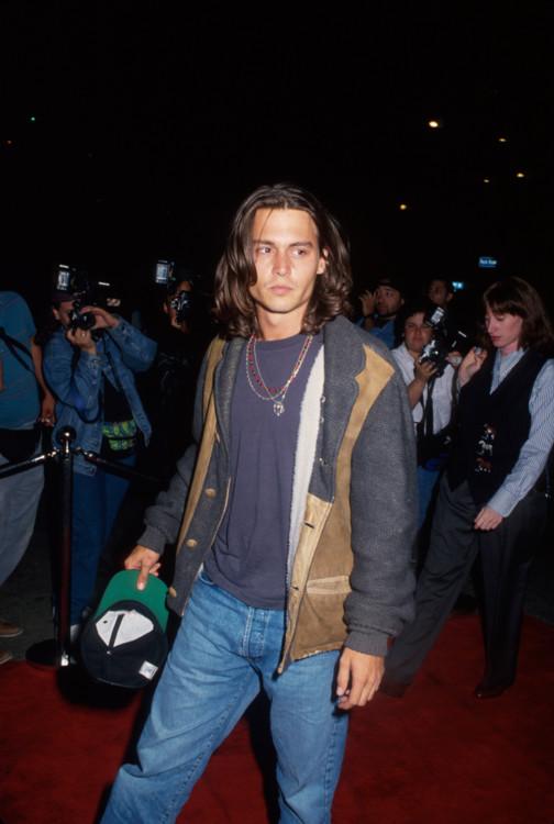Джонни Депп, 1992