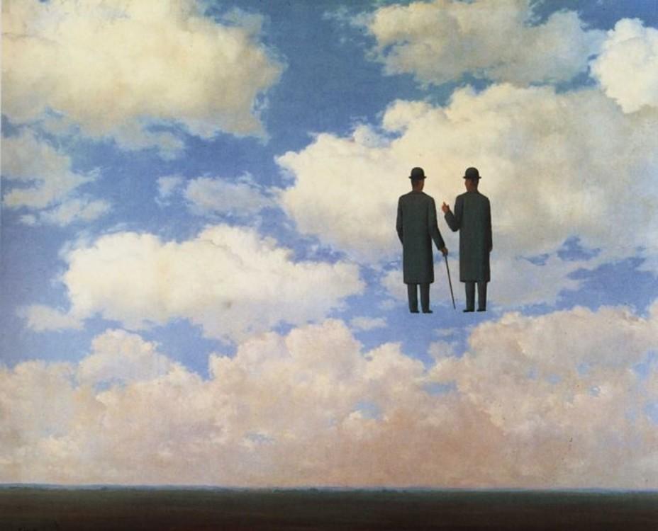 """""""Бесконечное признание"""", 1963, частная коллекция"""