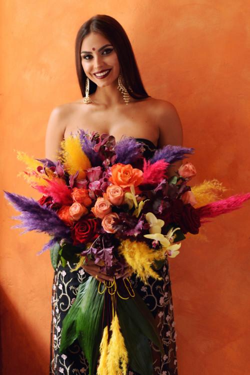 """Літня колекція букетів """"Лакшмі"""", квіткова майстерня LoraShen"""