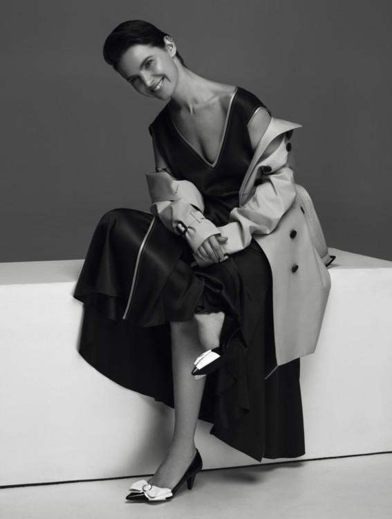 Дирижер Оксана Лынив в съемке для Vogue UA