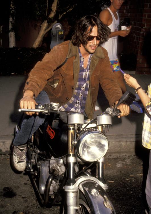 Кіану Рівз на прем'єрі фільму «Інший ти», 1991