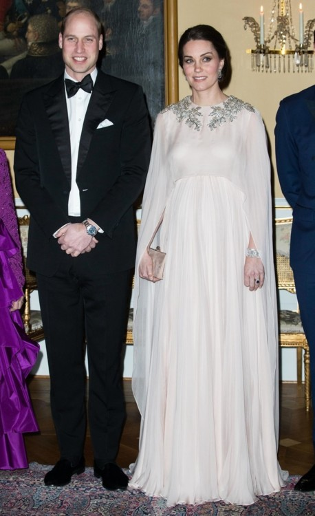 Кейт Миддлтон в Alexander McQueen в Норвегии (февраль, 2018)