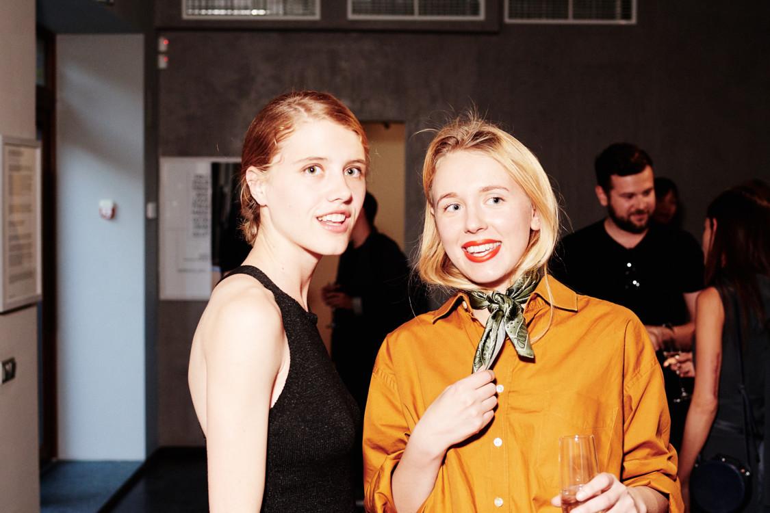 Анна Гришенко и Мария Гаврилюк