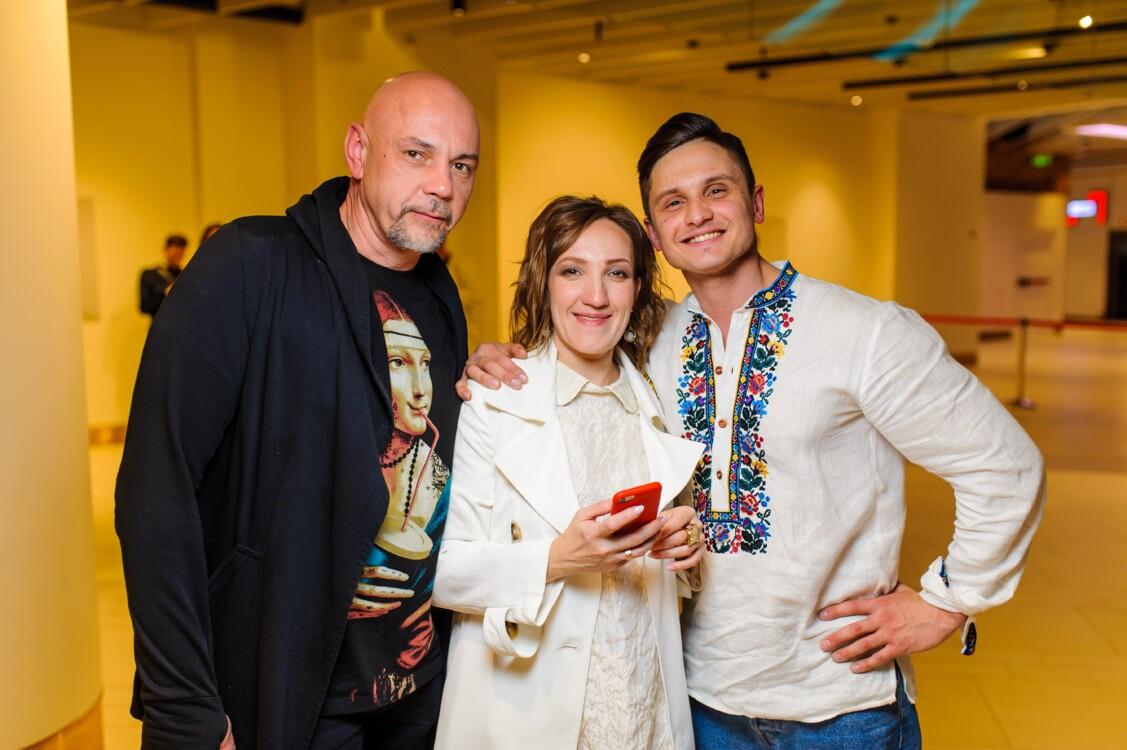 Андрій Дербін, Анна Попова, Олександр Пилипенко