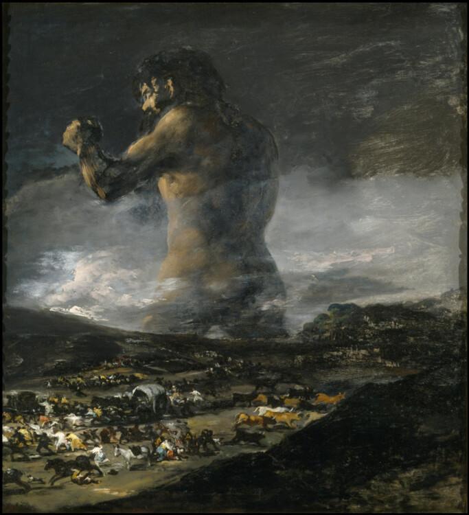 «Колосс», 1825