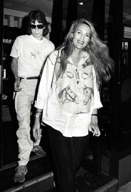 Джерри Холл в молодости фото