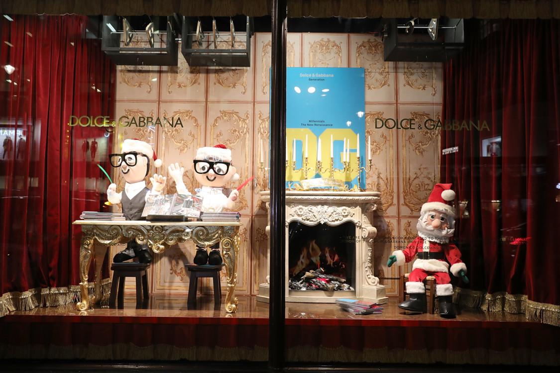 Dolce & Gabbana Italian Christmas в Harrods