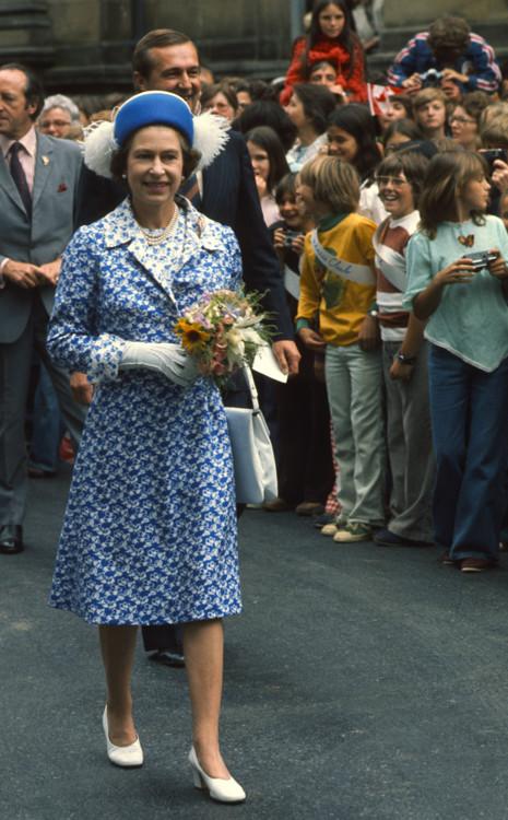 Візит Єлизавети II на літні Олімпійські ігри в Монреалі 1976 року