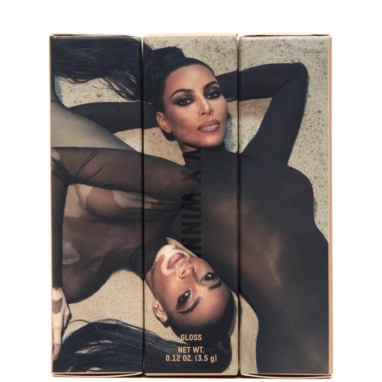 Винни Харлоу и Ким Кардашьян для KKW Beauty