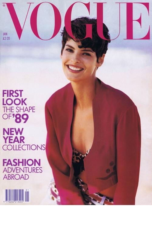 Vogue British, январь 1989