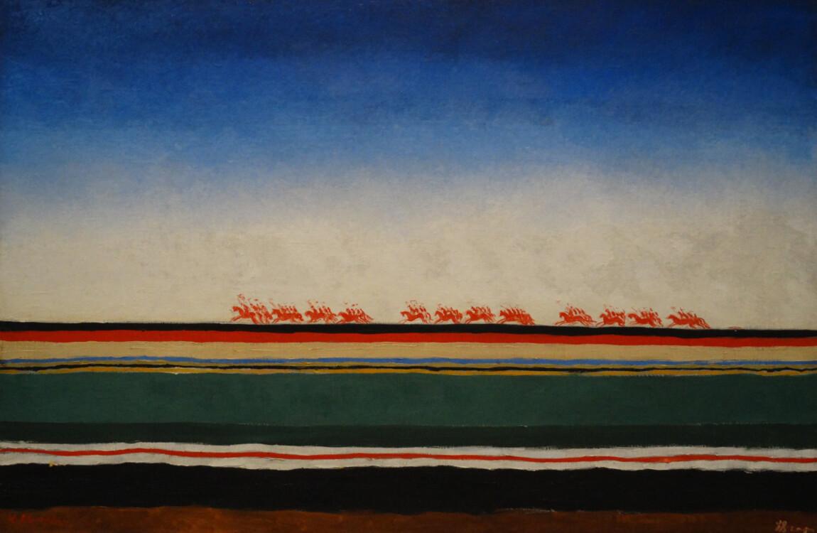 «Скачет красная конница», 1932 (Государственный Русский музей, Санкт-Петербург)