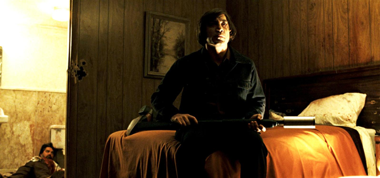 Гав'єр Бардем у фільмі «Старим тут не місце», 2007