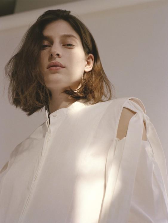Хлопковая блуза, винтаж