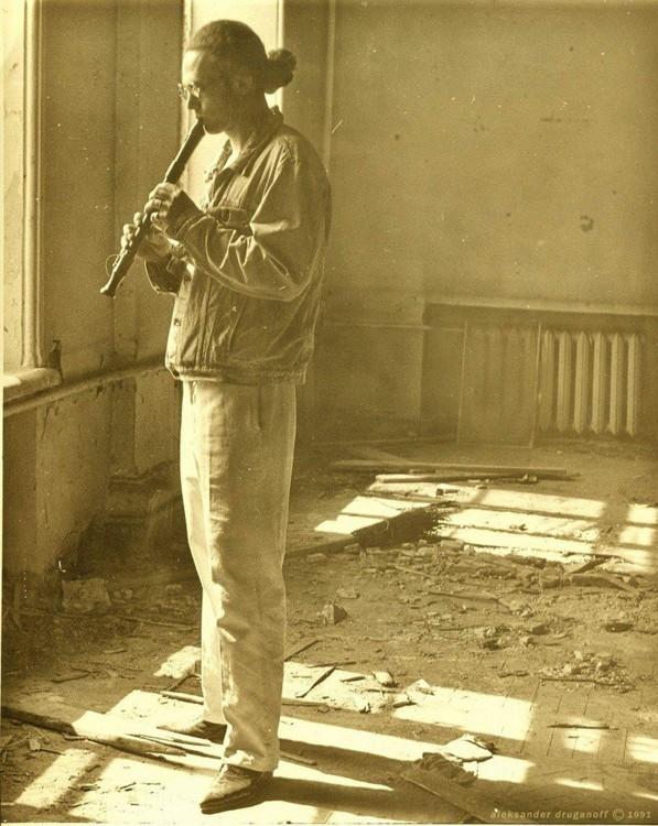 Кирилл Проценко на Паркоммуне, фото: Александр Друганов