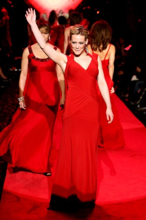 Хилари Дафф, The Heart Truth's Red Dress Collection, 2009