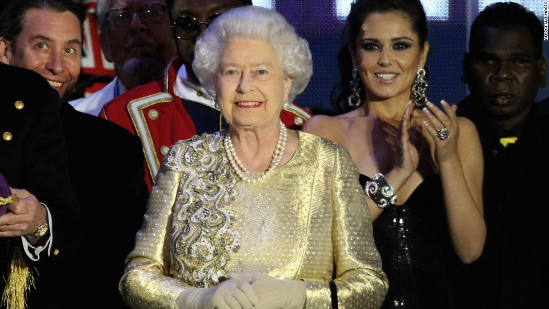 Королева Елизавета II на Diamond Jubilee Concert