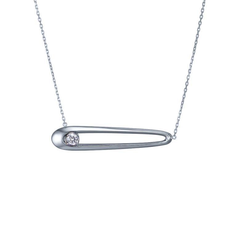 Колье из новой коллекции бриллиантов GLOW ювелирного дома SOVA