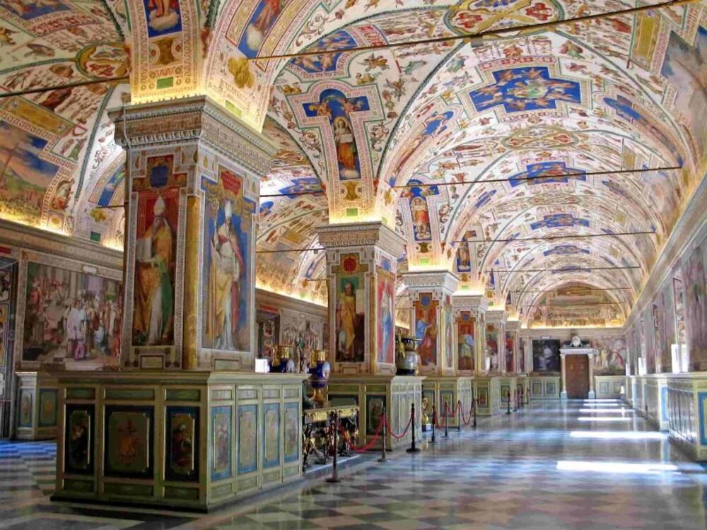 Музеи Ватикана, Ватикан (6 756 000 посетителей в 2018 году)