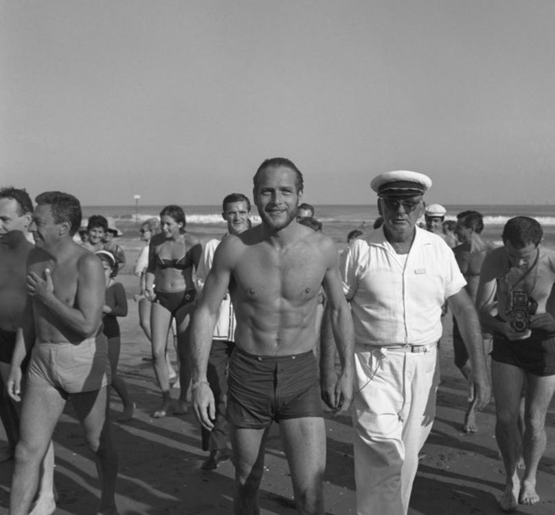Пол Ньюман в Венеции в 1963 году