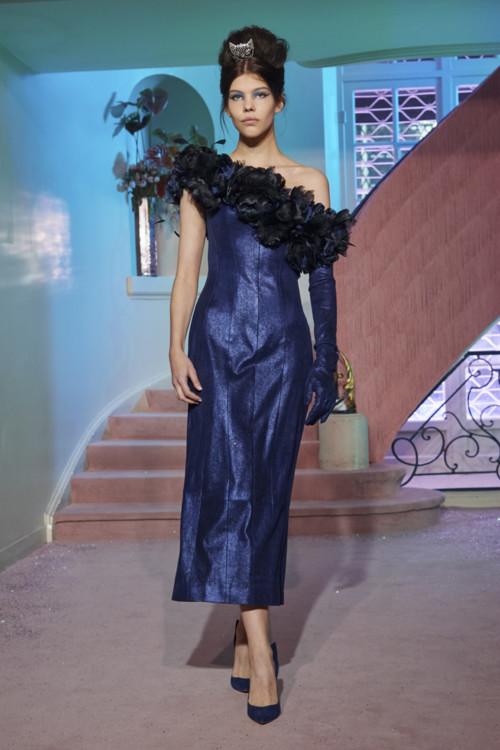 Марія База на шоу Ulyana Sergeenko Couture весна-літо 2020