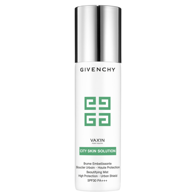 Солнцезащитный детокс-спрей Beautifying Mist High Protection Urban Shield SPF 30 PA+++, Givenchy