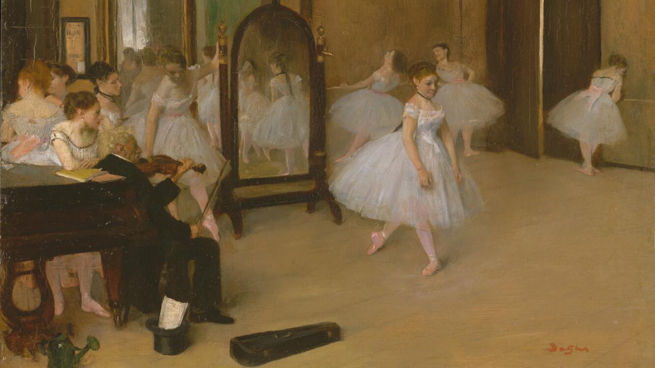 «Танцевальный зал», Эдгара Дега