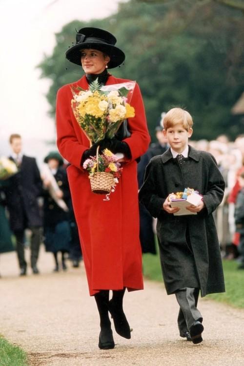 Принцеса Діана і принц Вільям, 25 грудня 1993 р.