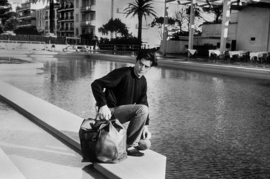 Ален Делон на Каннському фестивалі, 1961 рік