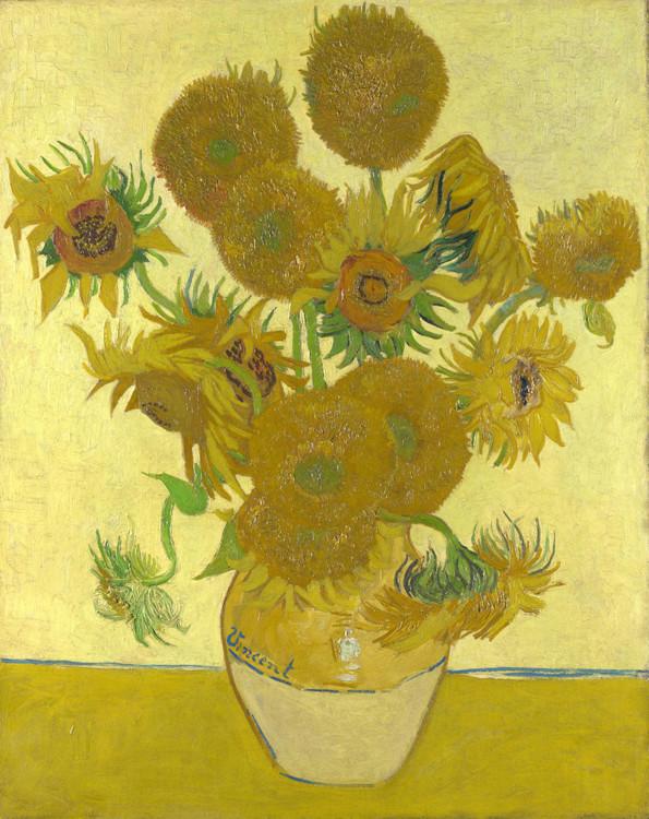 """""""Соняшники"""", 1888, Лондонська національна галерея, Лондон, Великобританія"""