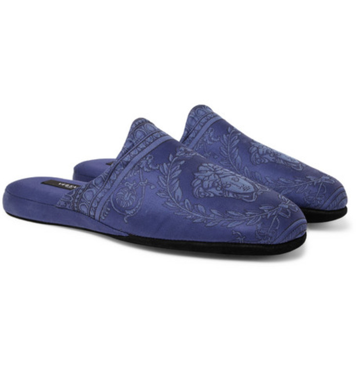 Домашні туфлі Versace