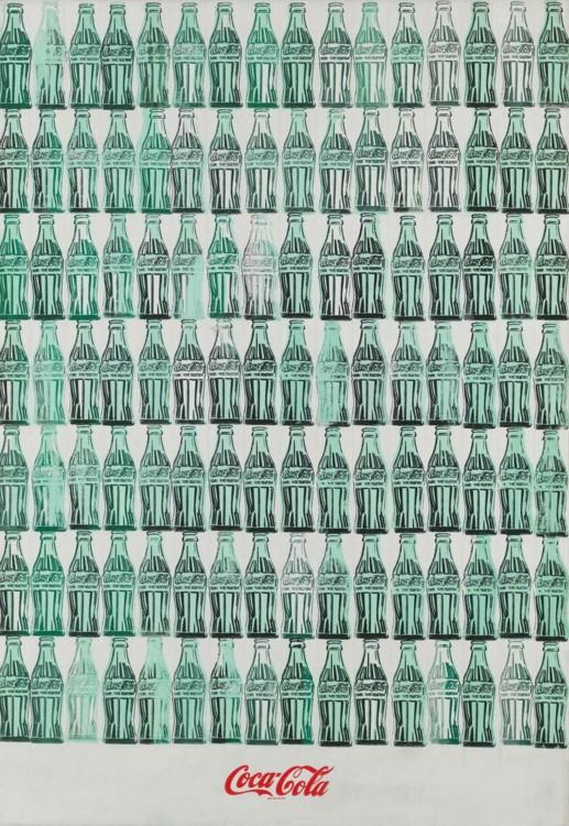 «Зеленые бутылки Кока-Колы,1962»
