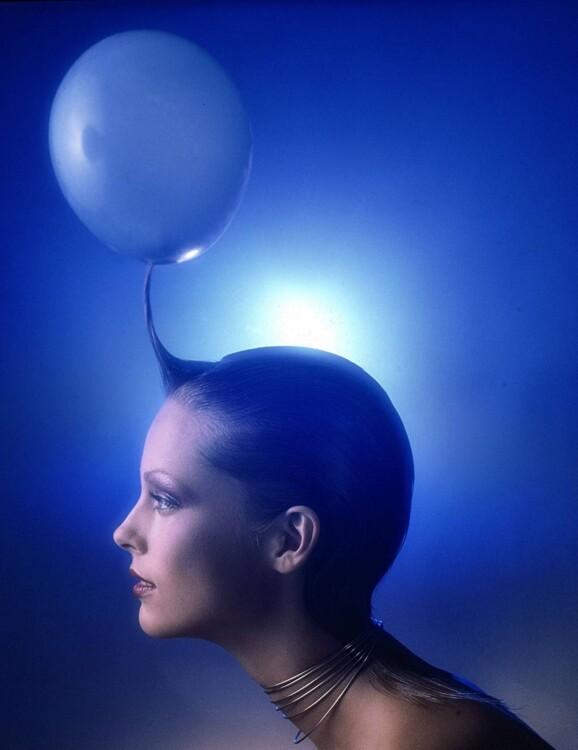 Изображение видения Мэри Куант о будущем индустрии красоты, сентябрь 1970