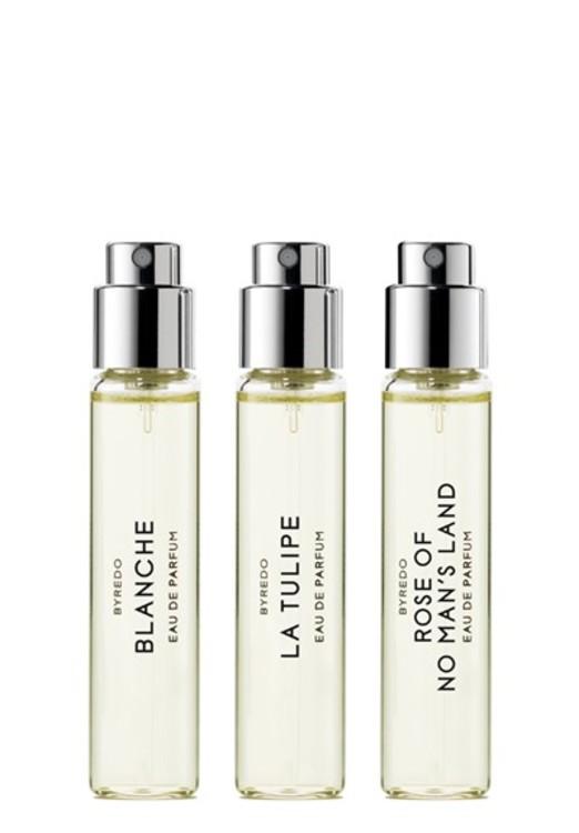 Набор La Sélection Florale:  Blanche, La Tulipe, Rose of No Man's Land (3*12 мл Eau de Parfum), Byredo