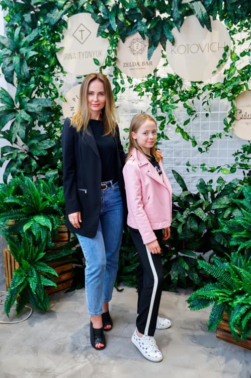 Ирина Бобровник с дочерью