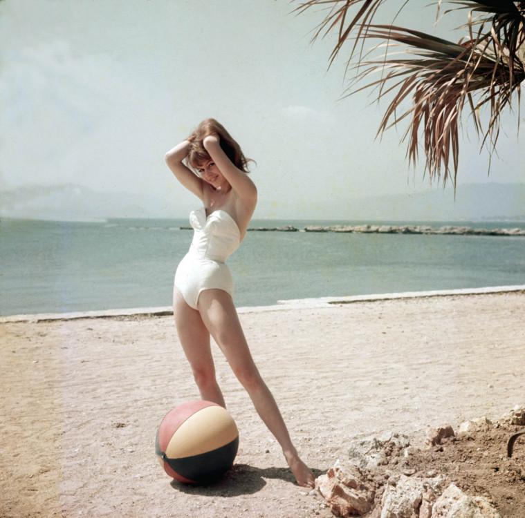 Брижит Бардо, 1955 год