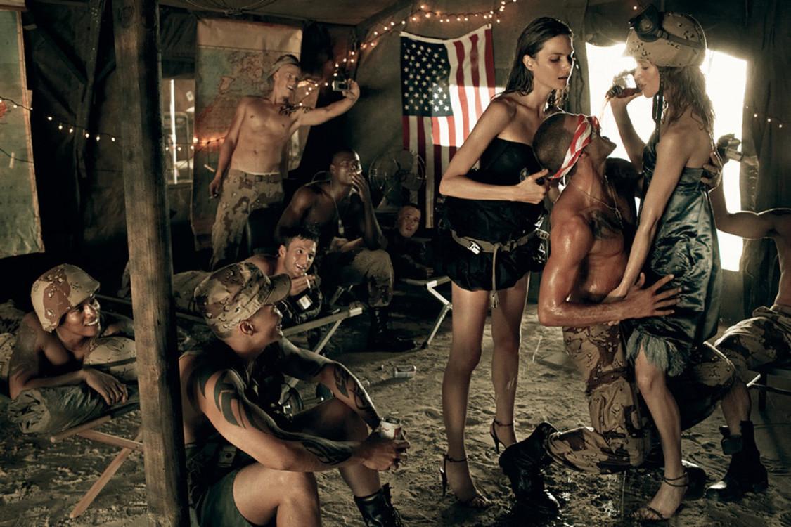 Стивен Мейзел, сентябрь 2007, Vogue Italia